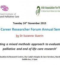 Early Career Researcher Forum Annual Seminar