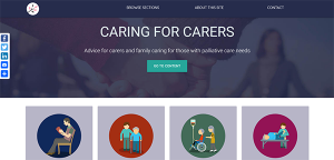 Caring for Carers website
